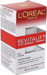 Loreal Revitalift Eye Cream 0.5 Ounce (14ml) (2 Pack)