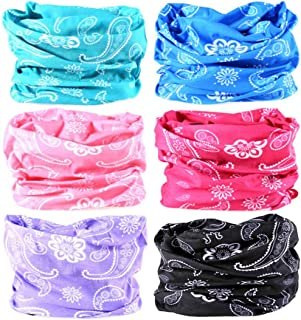 VANCROWN Headwear Wide Headbands Scarf Head Wrap Mask Neck Warmer