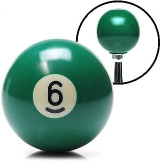 American Shifter 96051 Solid Green 6 Ball Billiard Pool Shift Knob