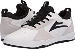 White/Black Suede 1