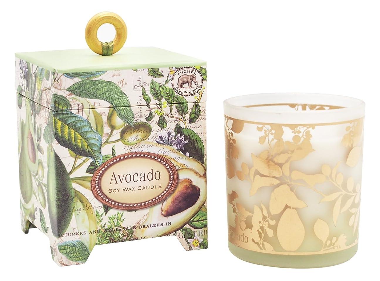 意欲組み合わせる休憩ミッシェルデザインワークス アロマキャンドル (アボカド) 香り:ハーバルアボカド MD-CAN259