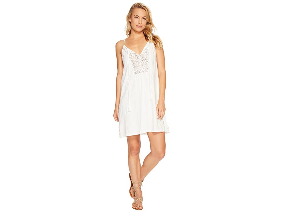 Roxy Black Water Dress (Marshmallow) Women