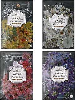 EXCEART 4 Ensembles Vintage Scrapbooking DIY Matériel Papier Floral Motif Journal Journal DIY Embellissement Fournitures p...