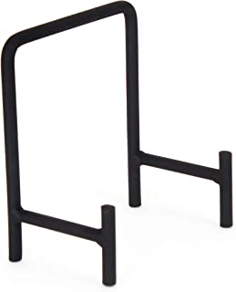 Milltown Merchants 1 Small Metal Display Stand - Great for Displaying Small Plates, Dishes, Plaques, and Art Creations (1-Pack, Small Modern Stand)