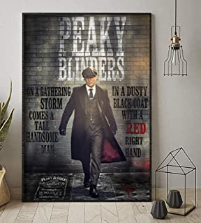 Peaky Blinders On A Gathering Storm Comes Handsome Man Vertical Poster No Frame (24 X 36)