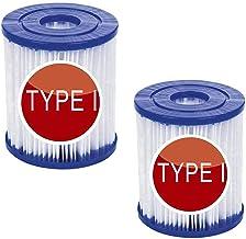 LIANHUAA Bestway - Cartucho de filtro (tamaño 1, sustituye a los cartuchos de filtro de tamaño 1 para Bestway, tamaño I, 7,8 x 8,8 cm, 2 unidades)