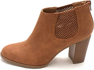Style & Co. Womens Lanaa Closed Toe Ankle Fashion Boots, Cedar, Size 10.0