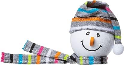 Tenna Tops Snowman Winter Hat & Scarf Car Antenna Topper/Antenna Ball/Mirror Dangler/Desktop Spring Stand (Grey)