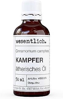 wesentlich. Kampferöl - ätherisches Öl - 100% naturrein Glasflasche - u.a. für Duftlampe und Diffuser 50ml