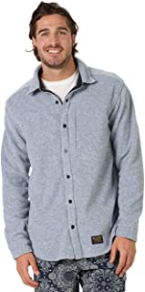 Burton Spillway Shirt Snap up Fleece Medium Grey Heather