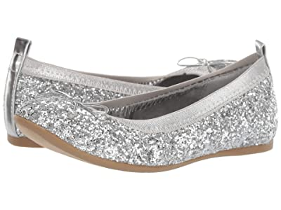 Nina Kids Esther (Little Kid/Big Kid) (Silver Glitter) Girls Shoes