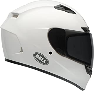 Bell Qualifier DLX Full-Face Motorcycle Helmet (Solid White, X-Large)