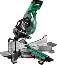 Metabo HPT 10-Inch Sliding Miter Saw | Zero Rear Clearance Slide System | Dual Bevel |..