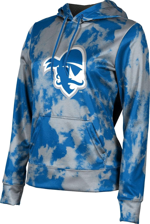 ProSphere Seton Hall University Girls' Pullover Hoodie, School Spirit Sweatshirt (Grunge)
