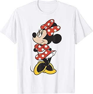 Disney Mickey And Friends Minnie Mouse Traditional Portrait Maglietta
