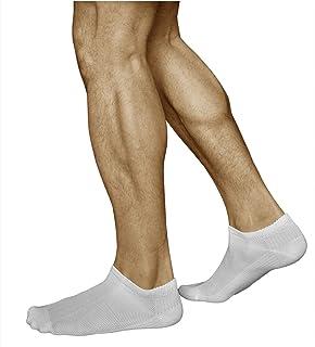 vitsocks, Calcetines Verano Hombre BAMBÚ Muy Respirables Bajos (3 PARES) Efecto de Enfriamiento, Sneaker