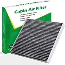 Kootek Cabin Air Filter for CF10134 Honda & Acura, Accord/Odyssey/Pilot/Ridgeline/CSX/ILX/MDX/RDX/TLX/RL//RLX/Civic/Croostour/CR-V Active Carbon Filters Bacteria Dust Pollen Gases Odors