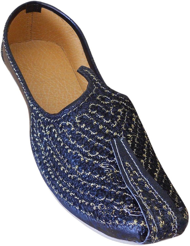 Kalra skapade mannens traditionella Jutti Jutti Jutti Indiska Faux Läder med broderier  fantastisk kvalitet