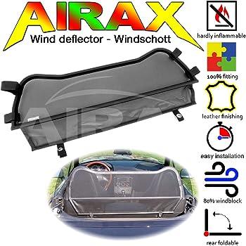 Airax Windschott f/ür Z3 Cabrio Windabweiser Windscherm Windstop Wind deflector d/éflecteur de vent