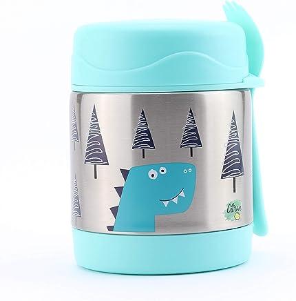 Citron Kids Triple Insulated Food Jar with Dino