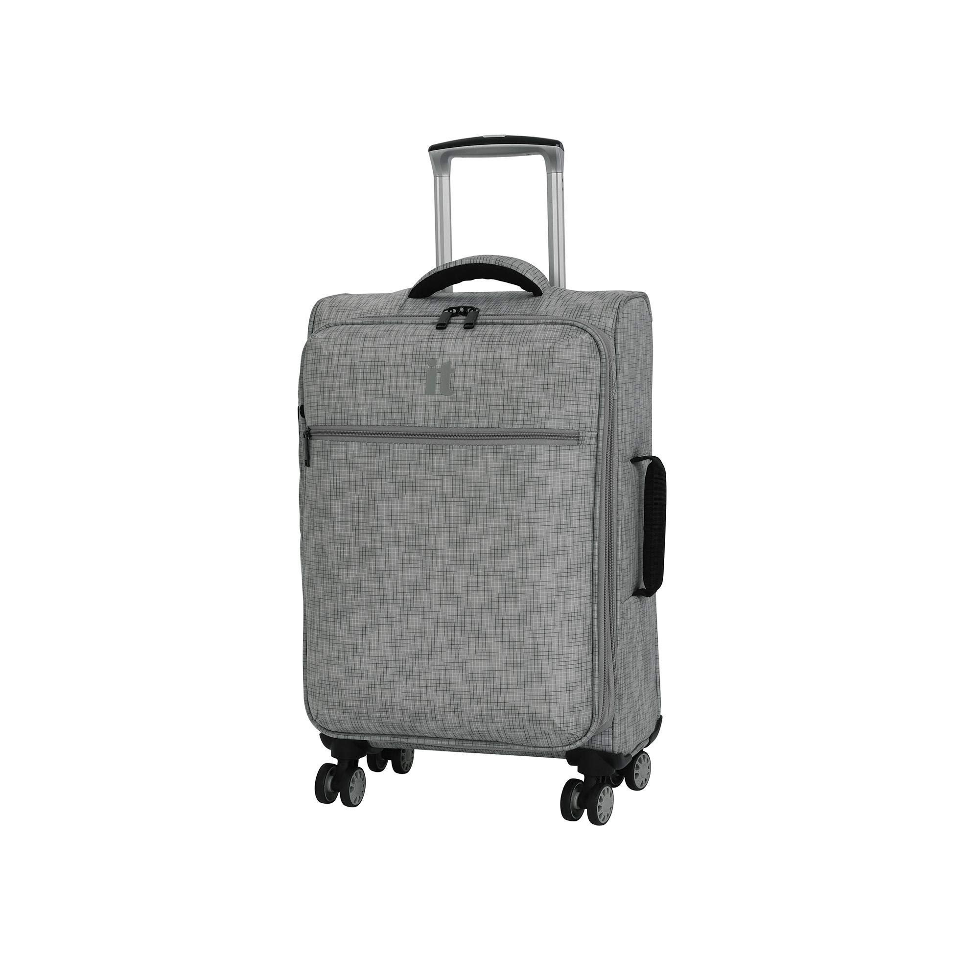 luggage Stitched Squares Lightweight Flint