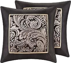 Madison Park MP30-1538 Normal Pillow, 20x20, Black