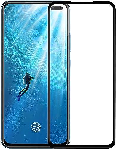 VZZR S D 11D Tempered Glass For Vivo V19 Vivo V17 Pro Vivo V17 Screen Protector Guard Edge To Edge 9H Hardness 2 5D Curved Full Glue Cover Case Friendly Temper Glass With Installation Kit
