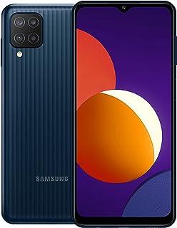 Samsung Galaxy M12 Dual SIM Smartphone, 64GB 4GB RAM LTE (UAE Version), Black - [Amazon Exclusive]
