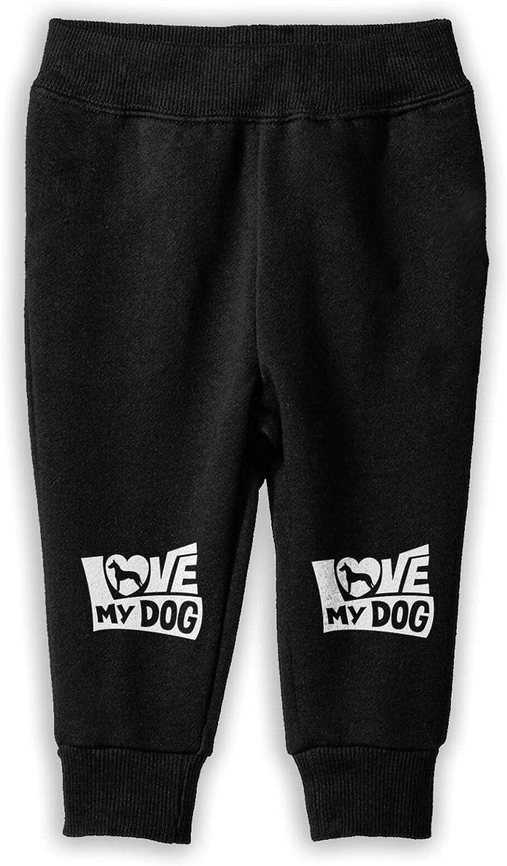 I Genuine Love My Great Dane Max 46% OFF Girl Cotton Boy Pants Jogger