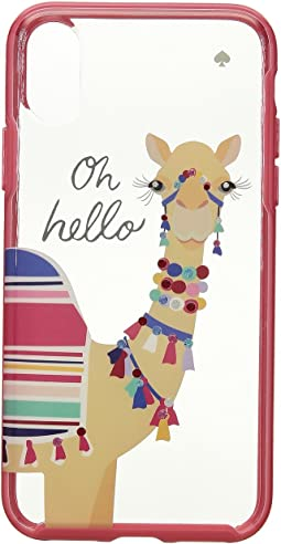 Kate Spade New York - Jeweled Camel Phone Case for iPhone® X