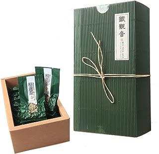 Luxtea Chinese Top10 Famous Tea – Anxi Tie Guan Yin / Iron Mercy Goddess / Tieguanyin Green Oolong Tea – Grade AA (High Grade)