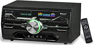 Technical Pro 4000 Watts Professional Bluetooth Home Audio Receiver w/ Built-in DVD Player, Dual 1/4'' Mic and USB SD Inpu...