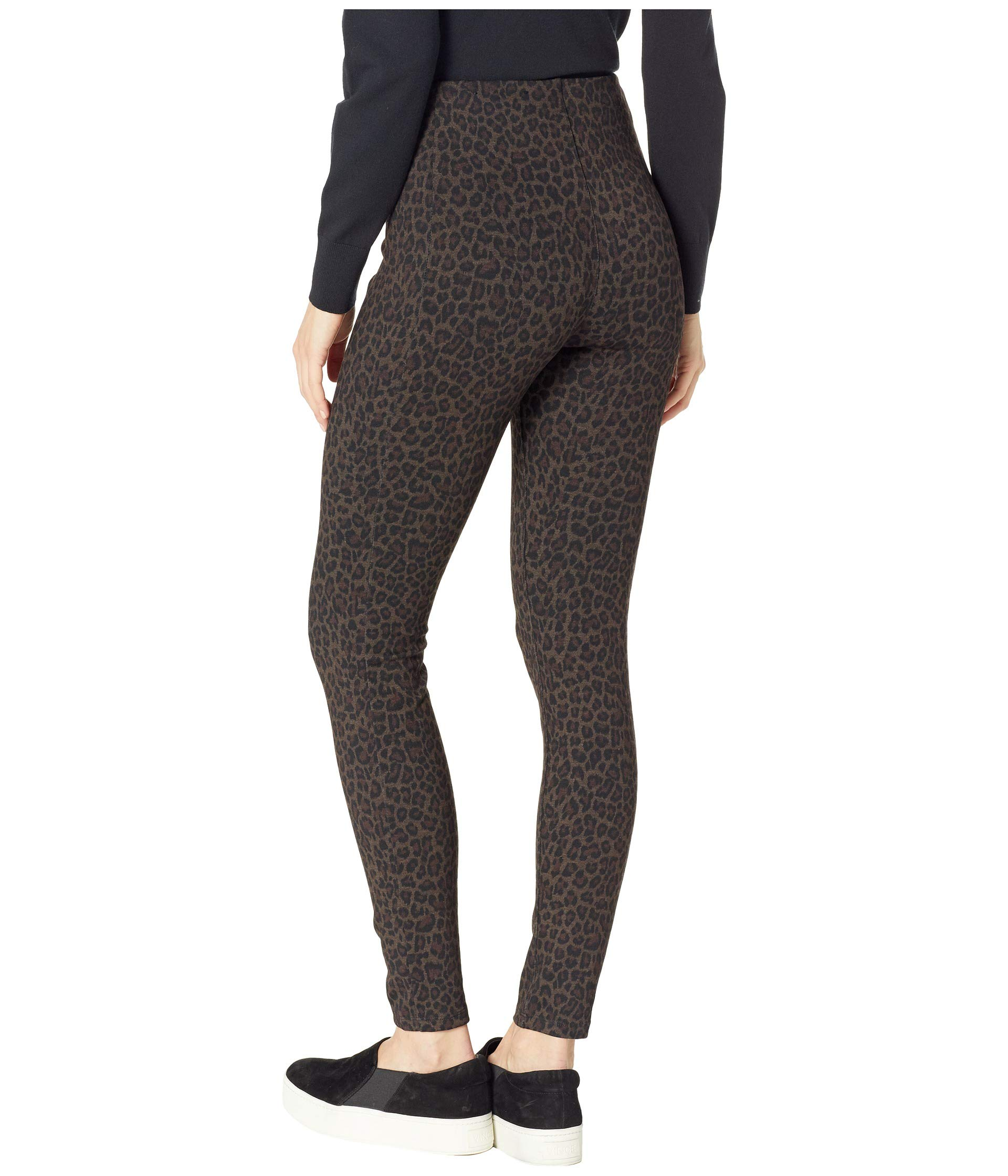 Leggings Liverpool Ponte Ankle Knit Reese Cheetah In rise High Patterned AqqRB1xIw