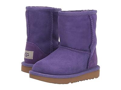 UGG Kids Classic II (Toddler/Little Kid) (Violet Bloom) Girls Shoes