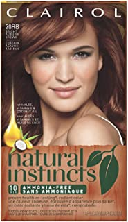 Clairol Natural Instincts Hair Color, Bright Auburn Brown 12 (20RB), 2 Pack