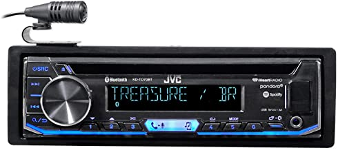 JVC KD-TD70BT CD Receiver Featuring Bluetooth/USB / Pandora/iHeartRadio / Spotify/FLAC / 13-Band EQ