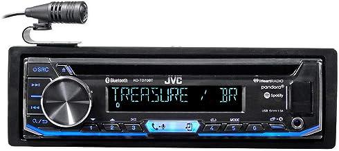 JVC KD-TD70BT CD Receiver Featuring Bluetooth/USB / Pandora/iHeartRadio / Spotify/FLAC / 13-Band EQ