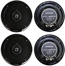 "4) New Kenwood KFC-1395PS 5.25"" 640 Watt 3-Way Car Audio Coaxial Speakers Stereo photo"