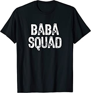 Baba Squad Funny Cool Gift T-Shirt