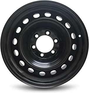 Road Ready Car Wheel For 2005-2013 Toyota Tacoma 17 Inch 6 Lug Steel Rim Fits R17 Tire - Exact OEM Replacement - Full-Size Spare