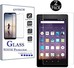 GVTECH for Amazon Fire HD 10 Screen Protector, Tempered Glass Screen Protector[0.3mm, 2.5D][Bubble-Free][9H Hardness][Easy Installation][HD Clear] for Amazon Fire HD 10 (2 Pack)