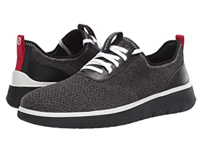 Cole Haan Generation Zerogrand Stitchlite (Gray Pinstripe/Black Knit/Barbados Cherry/Black) Men