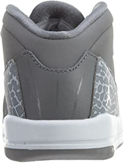 Nike Boys' Toddler Jordan Air Deluxe Basketball Shoes, Black, 10C