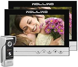 کابل مخابره داخل ساختمان ویدیوی سیمی Doorbell 9 اینچ با دوربین ضد آب IR HD