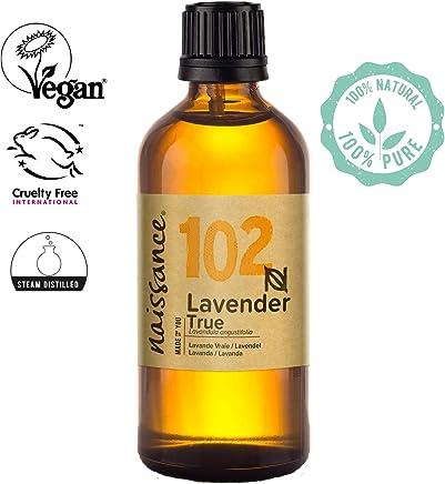 Naissance Huile Essentielle de Lavande Vraie (n° 102) - 100ml - 100% pure et naturelle - vegan et sans OGM
