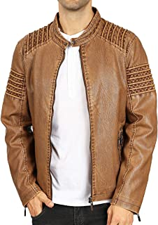 Best britches brown leather jacket Reviews