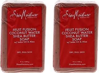 Shea Moisture Fruit Fusion Coconut Water Energizing Shea Butter Soap For Unisex, 8 Oz.