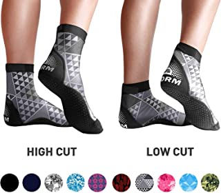 BPS 'Storm' Ultra Stretch Lycra Fin Socks for Water Sports & Beach Activities