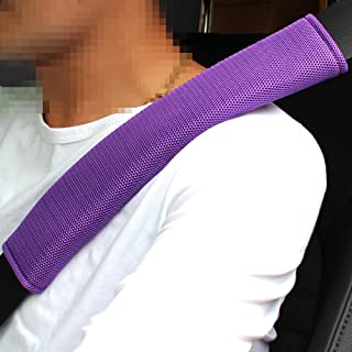 Rayauto 1 Pair Seat belt Pads,Car Belt Protector,Seat Belt Shoulder Strap Covers Harness Pads For Car/Bag,Soft Comfort Helps Protect You Neck And Shoulder