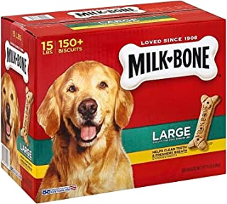 Milk-Bone Dog Biscuits, Large (15 lbs.) pack of 2
